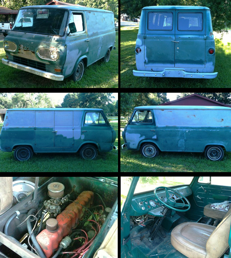 GEARHEAD FLICKS - 1964 Econoline van